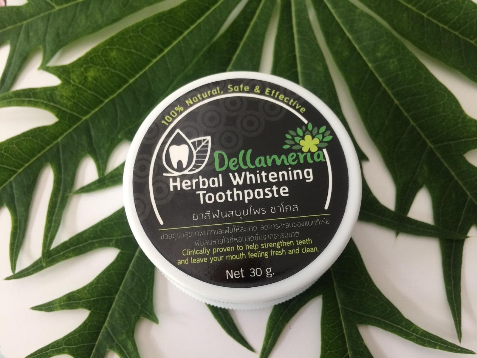 Herbal Teeth Whitening